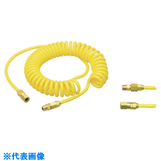 ■十川 コネクトコイル CHU-6510-10 10本入 〔品番:CHU-6510-10〕[TR-1182077×10]