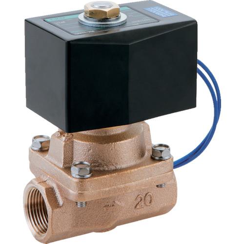 ■CKD 蒸気用パイロットキック式2ポート電磁弁〔品番:SPK11-15A-C4A-AC100V〕[TR-1193590]