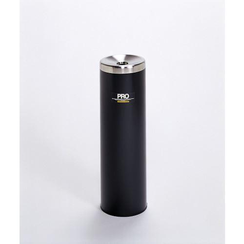 ■テラモト プロタワー灰皿黒  〔品番:SS-266-410-6〕[TR-1194970]