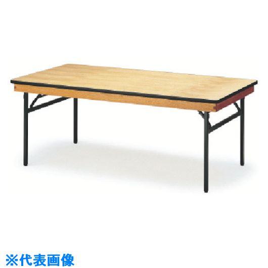 ■TOKIO レセプションテーブル 角型 1500X600 ハカマ付〔品番:FRT-1560〕[TR-1199312 ]【送料別途お見積り】