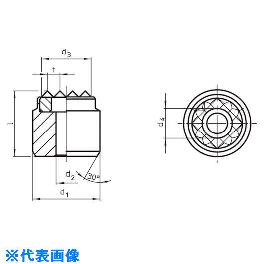 ■HALDER ハンドクランク DIN468グースネック 形状F  〔品番:24330.0370〕[TR-1200736]