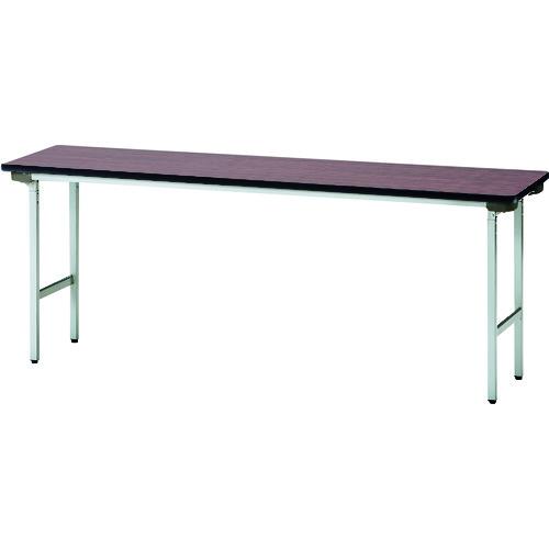 ■TOKIO 折りたたみテーブル 1500X450mm ローズ〔品番:TFA-1545NSE〕[TR-1201020 ]【送料別途お見積り】