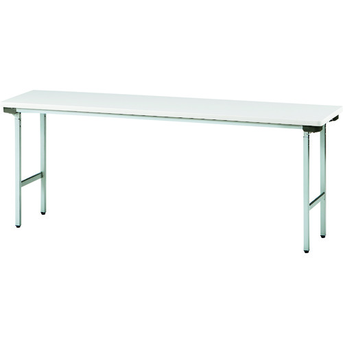 ■TOKIO 折りたたみテーブル 1800X450mm ニューグレー〔品番:TFA-1845NSE〕[TR-1201045 ]【送料別途お見積り】