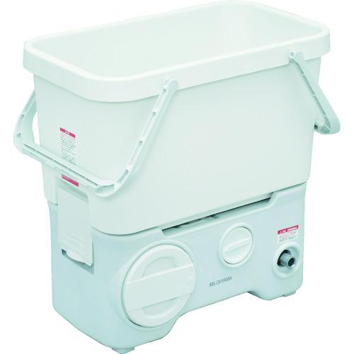 ■IRIS 568834タンク式高圧洗浄機充電タイプ〔品番:SDT-L01N-W〕[TR-1203921]