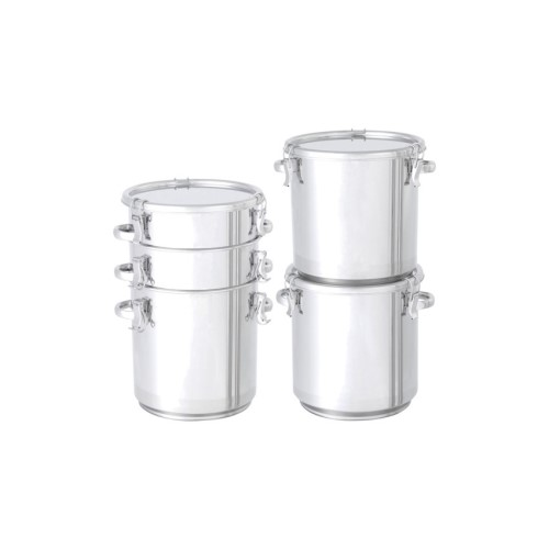 ■日東 積み重ね式テーパー型密閉容器 65L〔品番:TP-CTH-STA-43〕[TR-1212054 ]【送料別途お見積り】