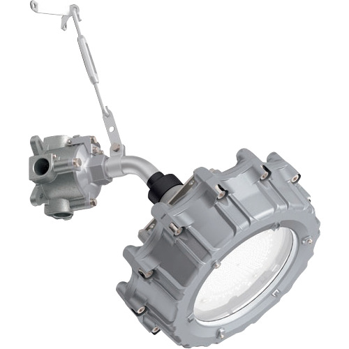 ■岩崎 防爆形LED高天井照明器具 水銀400W相当ブラケット形 電線管径Φ16  〔品番:EXIL3062SA9-16〕[TR-1213173]