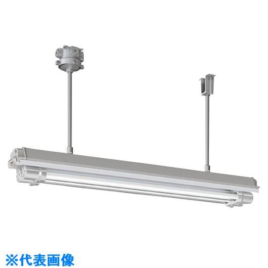 ■岩崎 防爆形直管LED照明器具32×2高出力形相当 パイプ吊形 電線管径Φ16〔品番:EXILF2421BSA9U-16〕[TR-1214779]