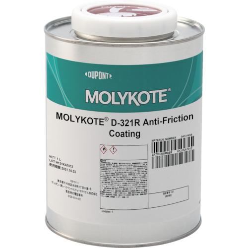■モリコート 乾性被膜 D-321R乾性被膜潤滑剤 1L  〔品番:D321R-10〕[TR-1229729]