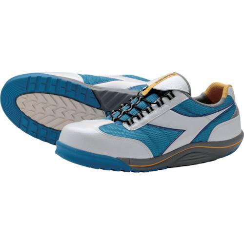 ■ディアドラ 安全作業靴 ラジアナ  ホワイト/ブルー 25.0CM  〔品番:RG14-250〕[TR-1229916]