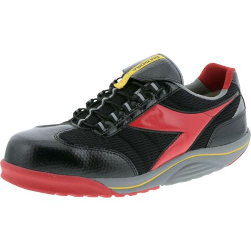 ■ディアドラ 安全作業靴 ラジアナ ブラック/レッド 27.5CM  〔品番:RG23-275〕[TR-1229952]