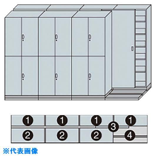 ■ナイキ 2列4連ベースセット〔品番:MCW-2418-AA-W〕[TR-1233727 ]【送料別途お見積り】