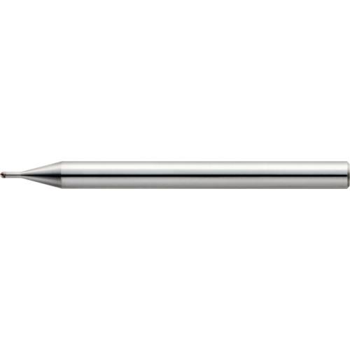 ■ユニオンツール 2枚刃超仕上げ加工用ロングネックボール R0.5×有効長3×刃長0.7×首径0.98〔品番:CBN-LBSF2010-030〕[TR-1239162]