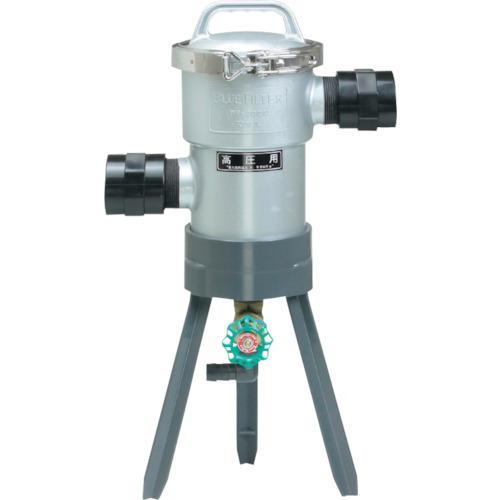 ■マサル ブルーフィルター PF-200型 高圧用 40Φ 50メッシュ  〔品番:M4315〕[TR-1240693]