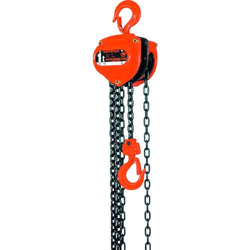 【高い素材】 ?象印 スーパー100H級チェーンブロック1t〔品番:H-01025〕[TR-1242393]:ファーストFACTORY-DIY・工具