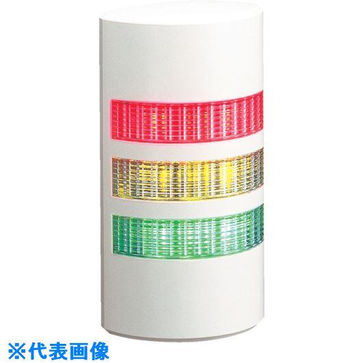 ■パトライト ウォールマウント薄型LED壁面  〔品番:WEP-302FB-RYB〕[TR-1243460]