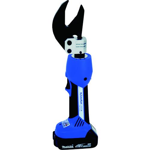 ■クラウケ 充電式油圧ケーブルカッター〔品番:ES32L〕[TR-1243837]【個人宅配送不可】