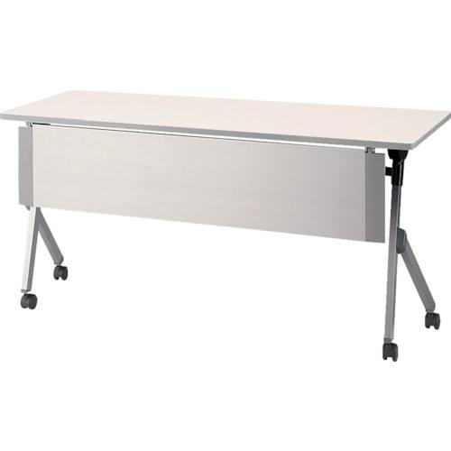 ■ナイキ 会議用テーブル〔品番:KUY1560P-WH〕[TR-1244614 ]【送料別途お見積り】