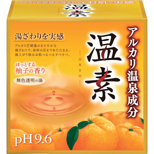 ■アース 温素 柚子の香り 12個入 〔品番:553911〕[TR-1247315×12]