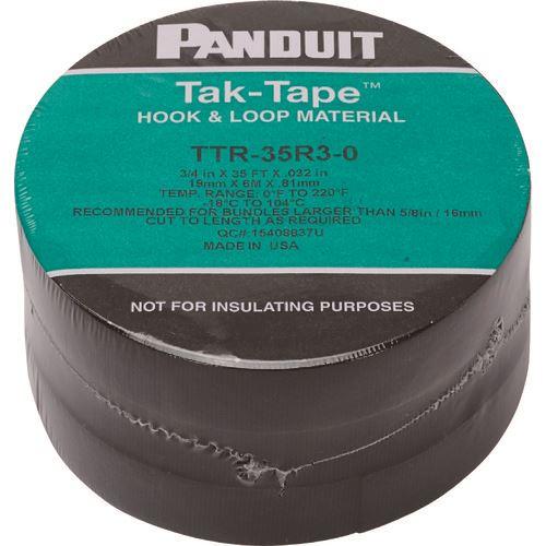 ■パンドウイット タックテープ(ロールタイプ)10.6MX3巻入り  〔品番:TTR-35R3-0〕[TR-1248212]