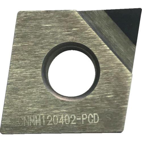 ■三和 ダイヤモンドチップ ひし形80° スクイ10°〔品番:CNMM120402-PCD〕[TR-1250548]