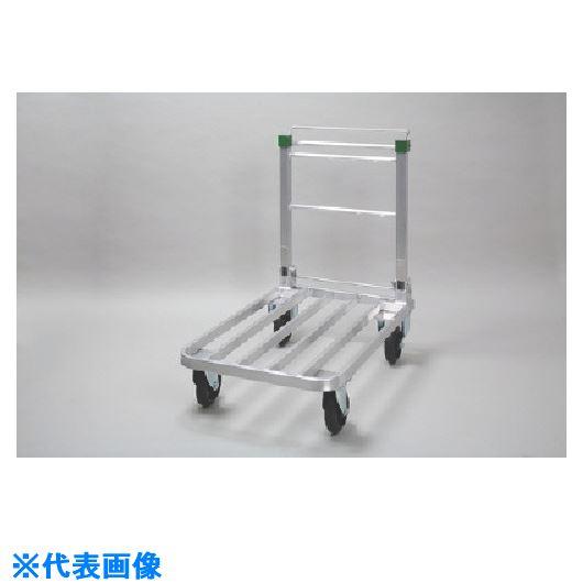 ■昭和 SD型アルミ製ブレーキ付き台車〔品番:SD-15〕[TR-1252315]【大型・重量物・個人宅配送不可】