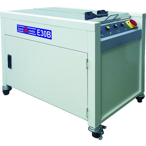 ■バンダマチック 半自動梱包機  〔品番:E30B〕[TR-1257162]【大型・重量物・個人宅配送不可】