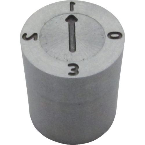 ■浦谷 金型デートマークSD型 外径5MM 日付10の位表示  〔品番:SD-D2-5〕[TR-1259623]