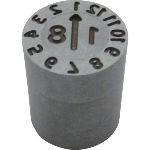■浦谷 金型デートマークSD型 外径8MM  〔品番:SD-YM-8-19〕[TR-1259649]