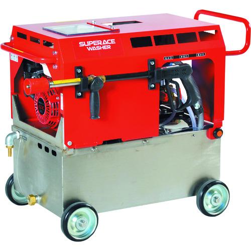 ■スーパー工業 エンジン式 高圧洗浄機 SE-2107STE6(静音型)〔品番:SE-2107STE6〕[TR-1261620]【個人宅配送不可】