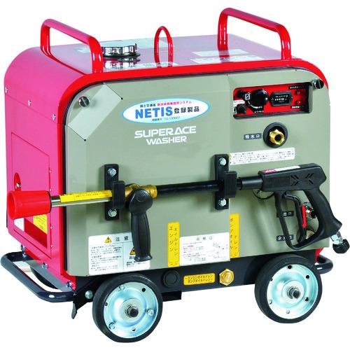 ■スーパー工業 ガソリンエンジン式 高圧洗浄機 SEV-1620SS(防音型)〔品番:SEV-1620SS〕[TR-1261626]【個人宅配送不可】
