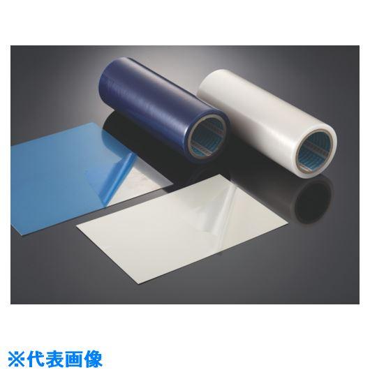 ■スミロン 表面保護フィルムPE2本入 ブルー 1250MM×100M  〔品番:E-212B-1250〕外直送[TR-1262596]【大型・重量物・個人宅配送不可】