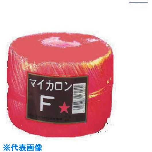 ■石本 マイカロンF320g500m4 赤《40巻入》〔品番:ML-F〕[TR-1266725]