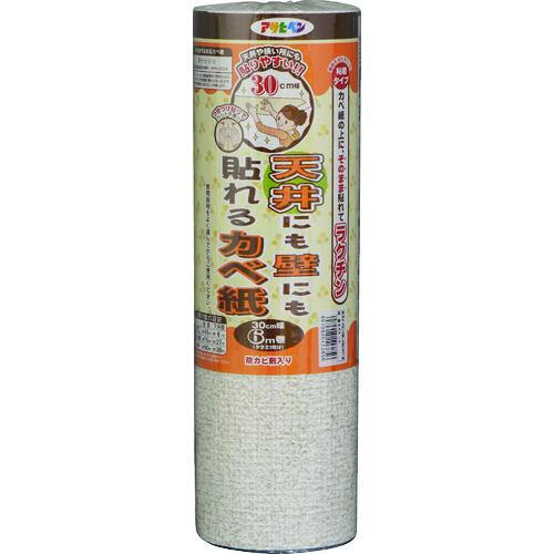 ■アサヒペン 天井にも壁にも貼れるカベ紙 30CMX6M GAP-2 6本入 〔品番:113856〕[TR-1267308×6]