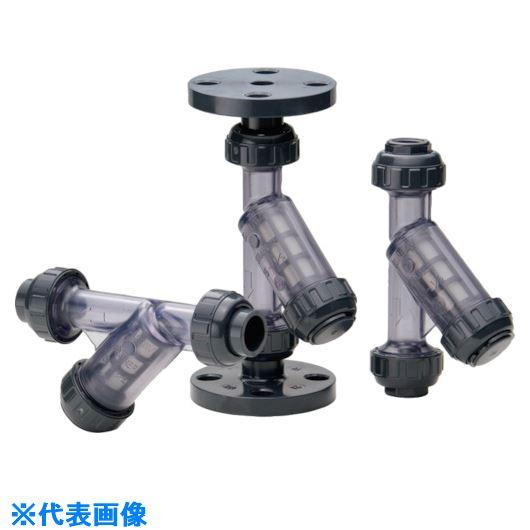 ■アサヒAV Y型ストレーナー PVC/EPDM 10K15A 40メッシュ〔品番:VYSUEF1015C〕[TR-1267565]