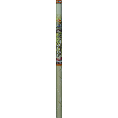 ■アサヒペン EXアイロン貼り糸入りふすま紙 95CMX180CM NO.092笹 5本入 〔品番:149114〕[TR-1268902×5]