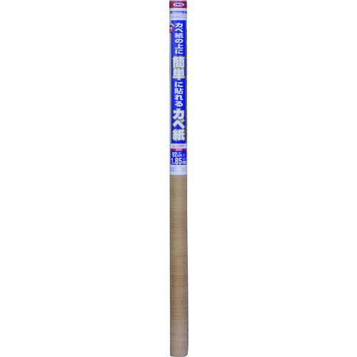 ■アサヒペン 簡単カベ紙 92CMX185CM KW18ライトオーク 5本入 〔品番:107848〕[TR-1268985×5]