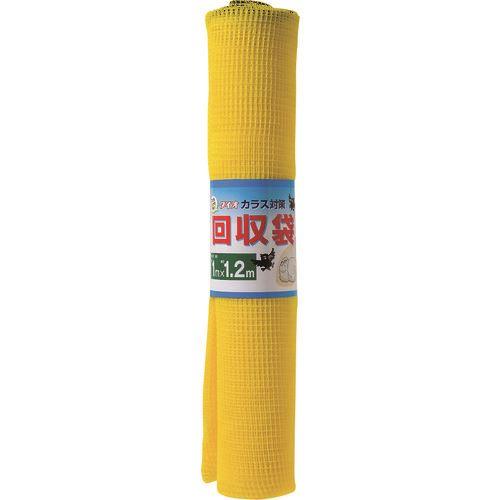 ■DIO カラス回収袋 黄色 1M×1.2M 50枚入 〔品番:270779〕[TR-1269702×50]