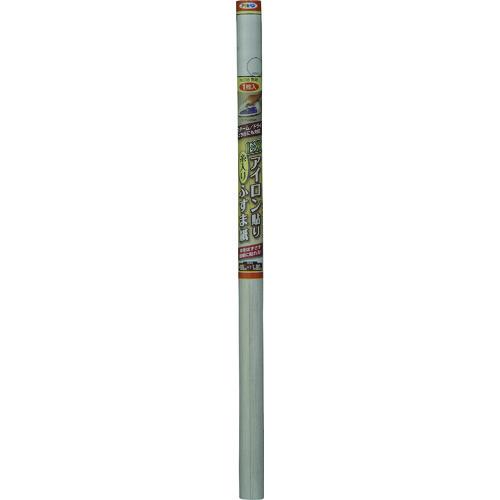 ■アサヒペン EXアイロン貼り糸入りふすま紙 95CMX180CM NO.095無地 5本入 〔品番:149145〕[TR-1270474×5]