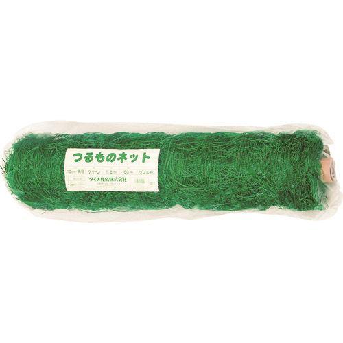 ■DIO つるものネット 10CM 緑 1.8×60M (W) 5個入 〔品番:260244〕[TR-1274448×5]