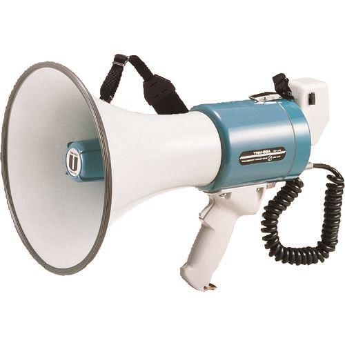 ■ユニペックス メガホン メタルホーン15W グリップ・ショルダー両用タイプ〔品番:TRM-66A〕[TR-1279131]【個人宅配送不可】
