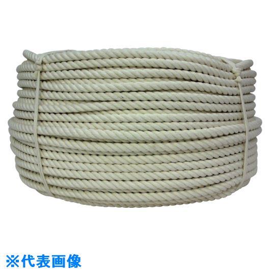 ■ユタカメイク 綿ロープ 24mm×200m〔品番:C24-200〕[TR-1280114 ]【送料別途お見積り】