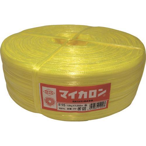 ■石本 マイカロン#100  1.5kg・黄《50巻入》〔品番:ML15〕[TR-1280674]