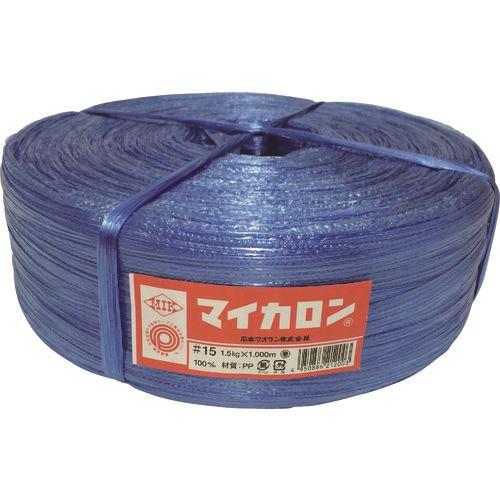 ■石本 マイカロン#100 1.5kg・青《50巻入》〔品番:ML15〕[TR-1280675]
