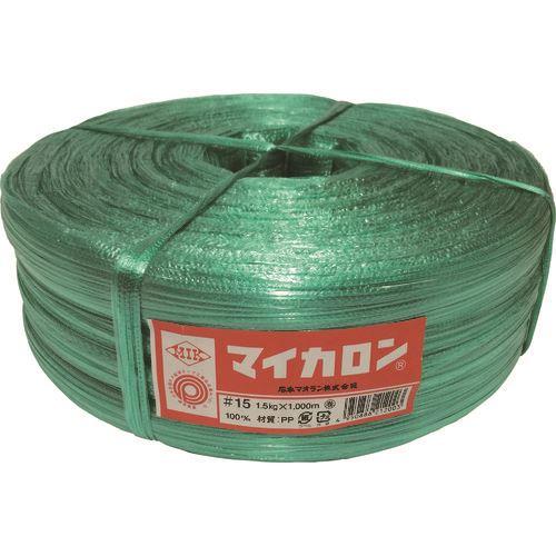 ■石本 マイカロン#100  1.5kg・緑《50巻入》〔品番:ML15〕[TR-1280680]
