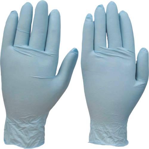■ダンロップ NK450ニトリル極薄手袋100枚入 SS ブルー《20箱入》〔品番:8936〕[TR-1284400×20]