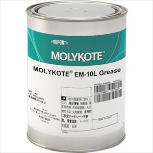 ■モリコート 樹脂用 EM-10Lグリース 16kg〔品番:EM-10L-16〕[TR-1287545]【個人宅配送不可】