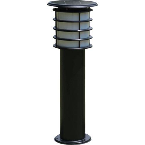 ■JAPPY ソーラーポールライト 60CMタイプ 黒色 電球色LED  〔品番:SPL-06-ORB〕[TR-1290527]
