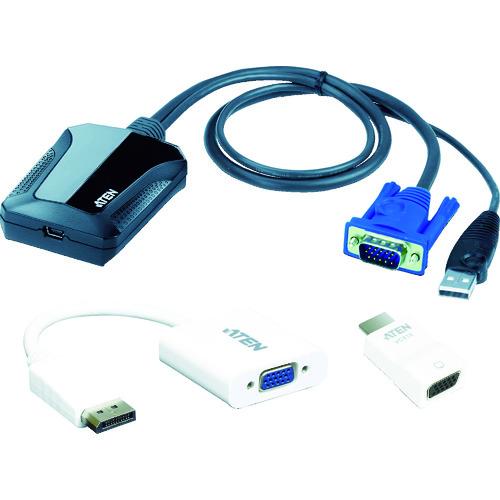 ■ATEN コンソールアダプター/USB/ラップトップ型(ITキット)  〔品番:CV211CP〕[TR-1290582]