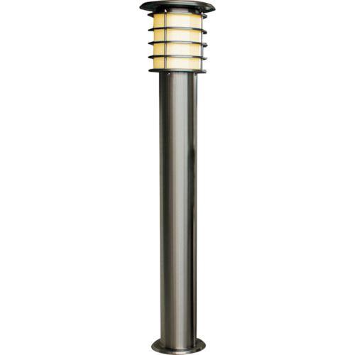 ■JAPPY ソーラーポールライト 1Mモデル シルバー 電球色LED〔品番:SPL-10-OR〕[TR-1292056]
