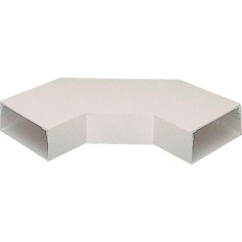 ■マサル エルダクト付属品 平面大マガリ 3030型 ホワイト  〔品番:LDM2352〕[TR-1301834]